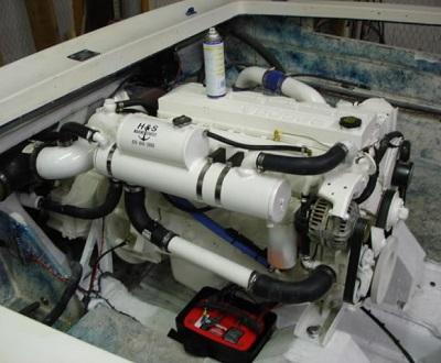 marine starter motor